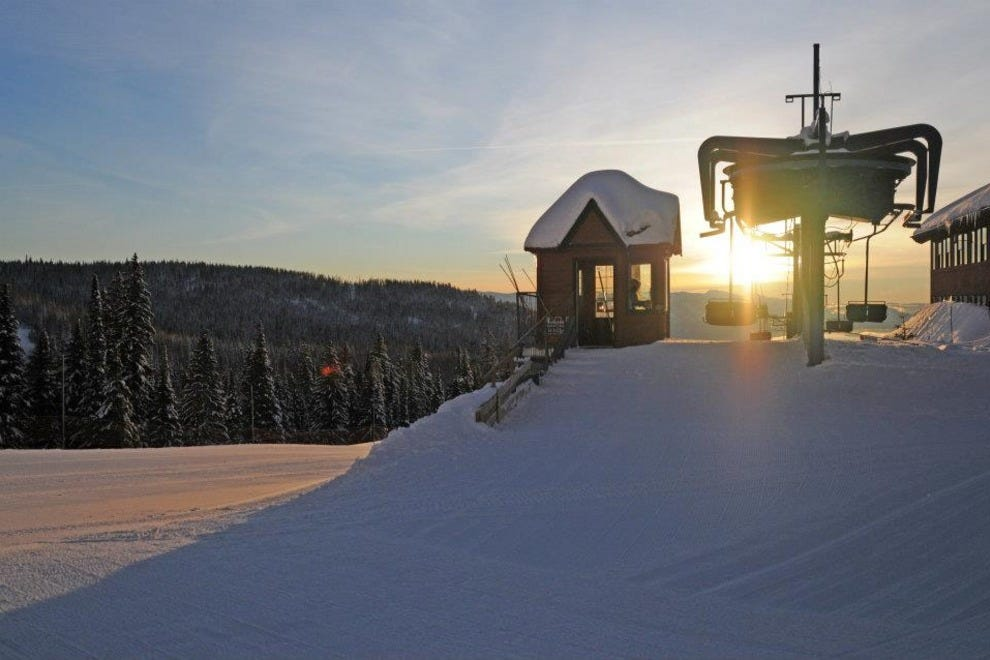 Schweitzer Mountain Resort won't fail to impress no matter your ski level