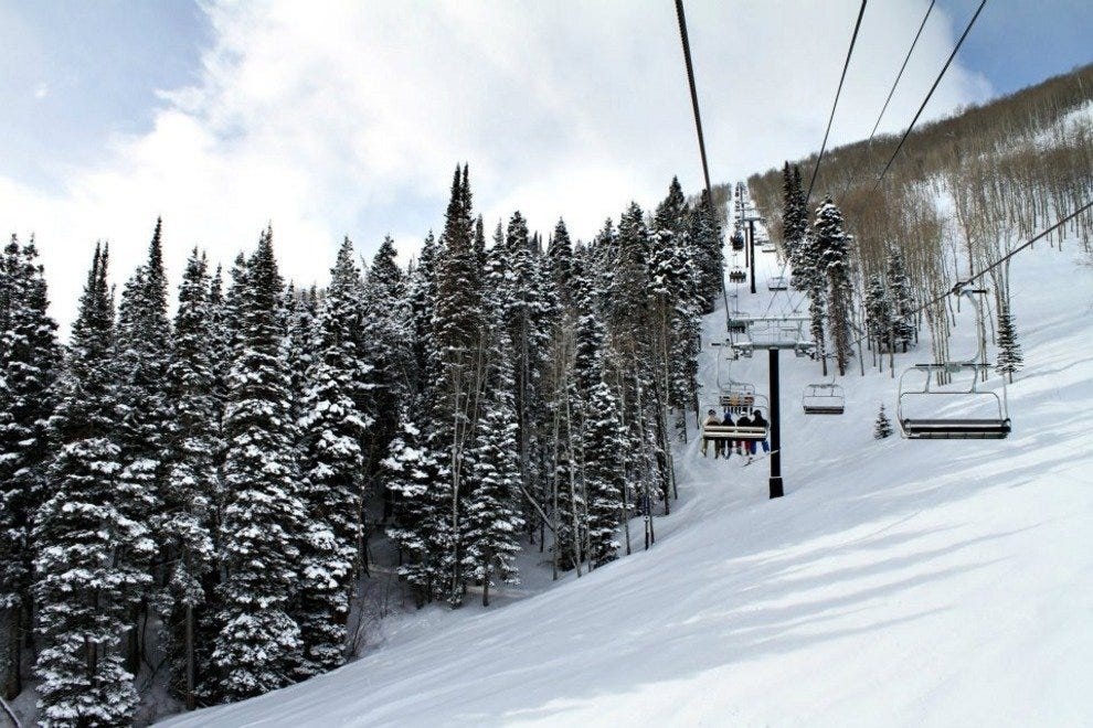 Park City Mountain Resort is fun from morning to night with skiing and Aprés Ski