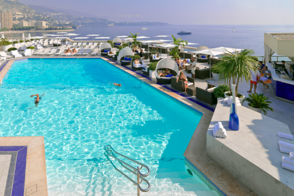 10Best Hotel Pool Pick: Fairmont in Monte Carlo