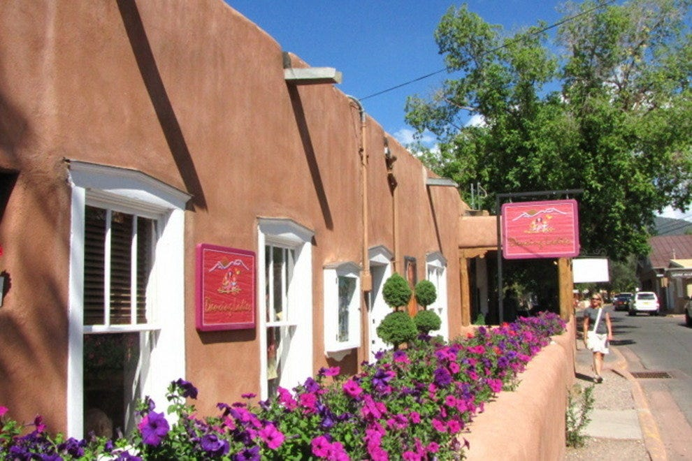 Canyon Road is Santa Fe's Famed Mecca for Galleries, Dining