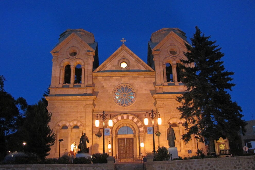 Nightfall at St. Frances is a favored time for photographers