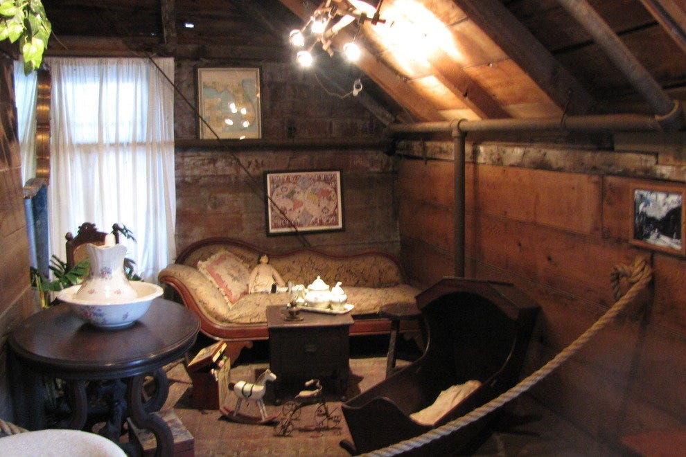Interior of the Oldest Schoolhouse