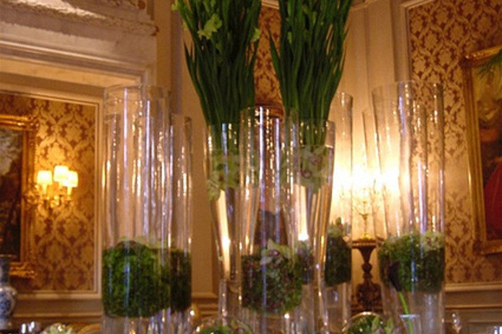 Le Cinq restaurant at the Four Seasons George V in Paris