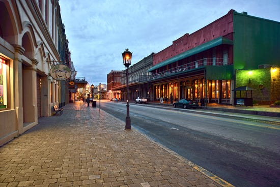 Strand Historic District Galveston Shopping Review