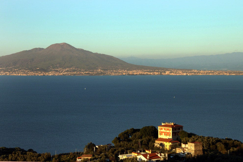 Mt. Vesuvius, Bay of Naples