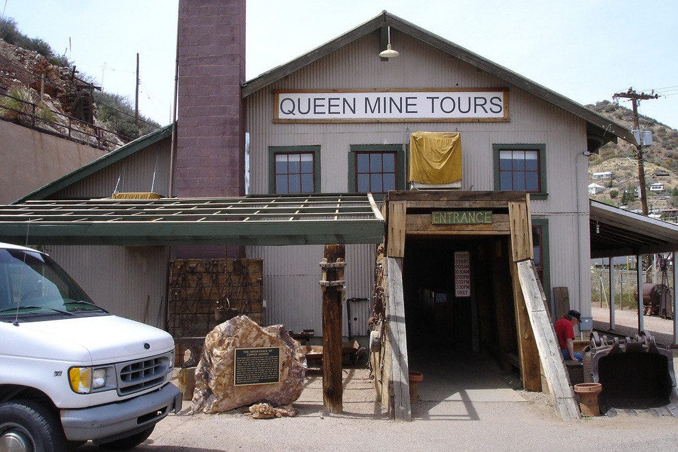 Queen Mine in Bisbee, Arizona