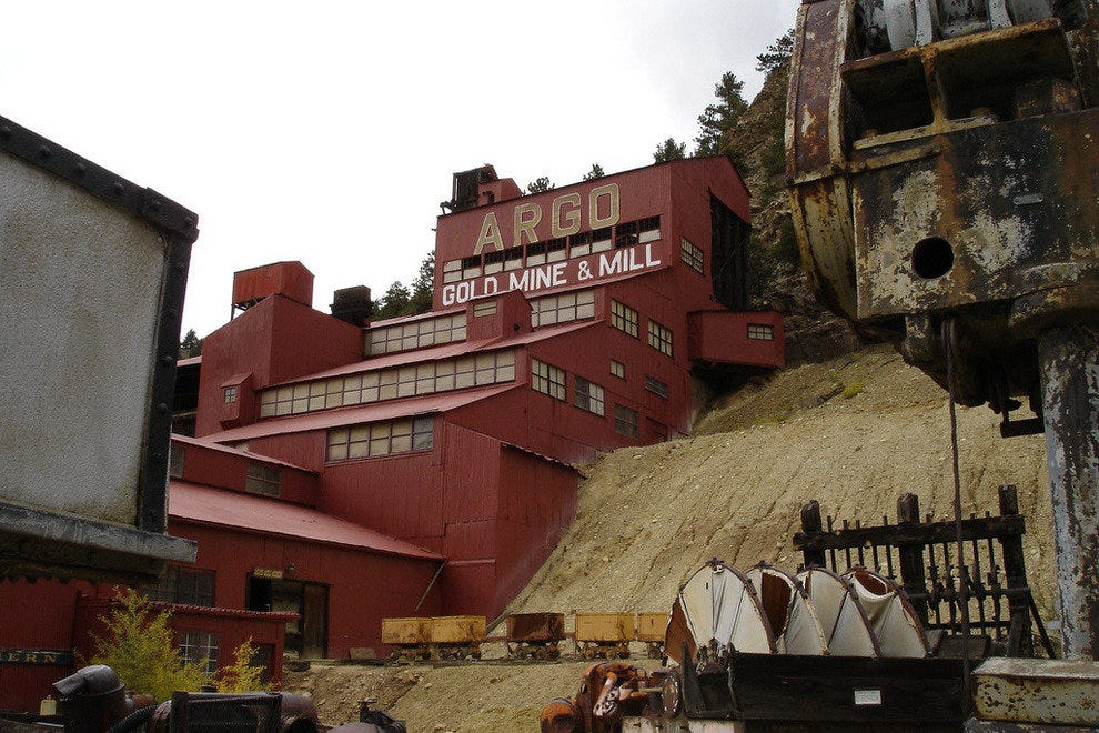 Historic Argo Gold Mine in Idaho Springs, Colorado