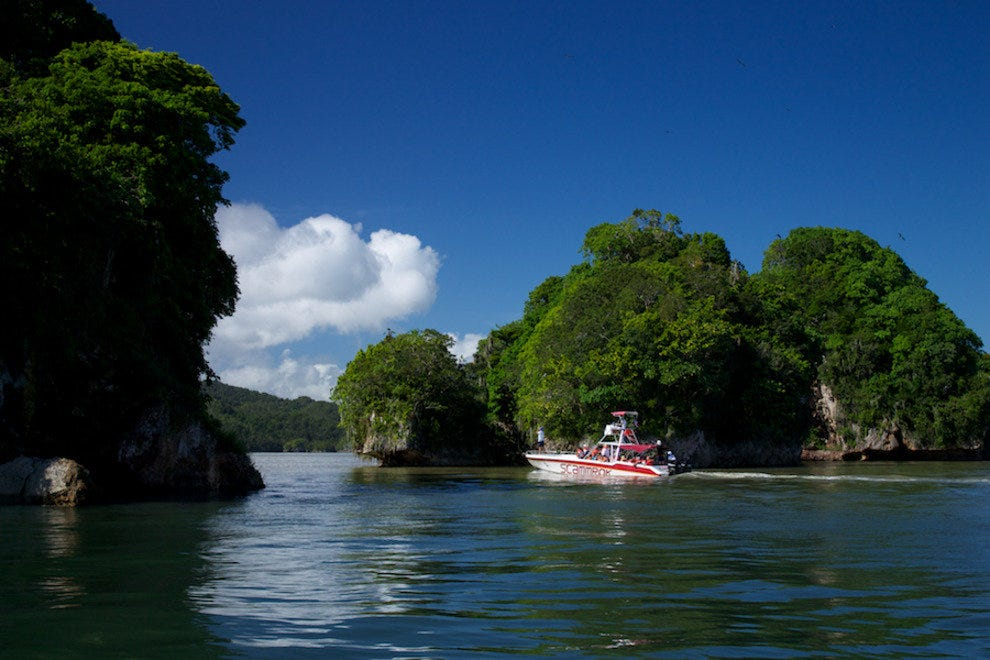 Take a boat ride past more than 50 islands in this coastal national park.
