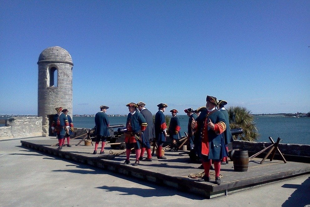 Historical Reenactment at Castillo de San Marcos
