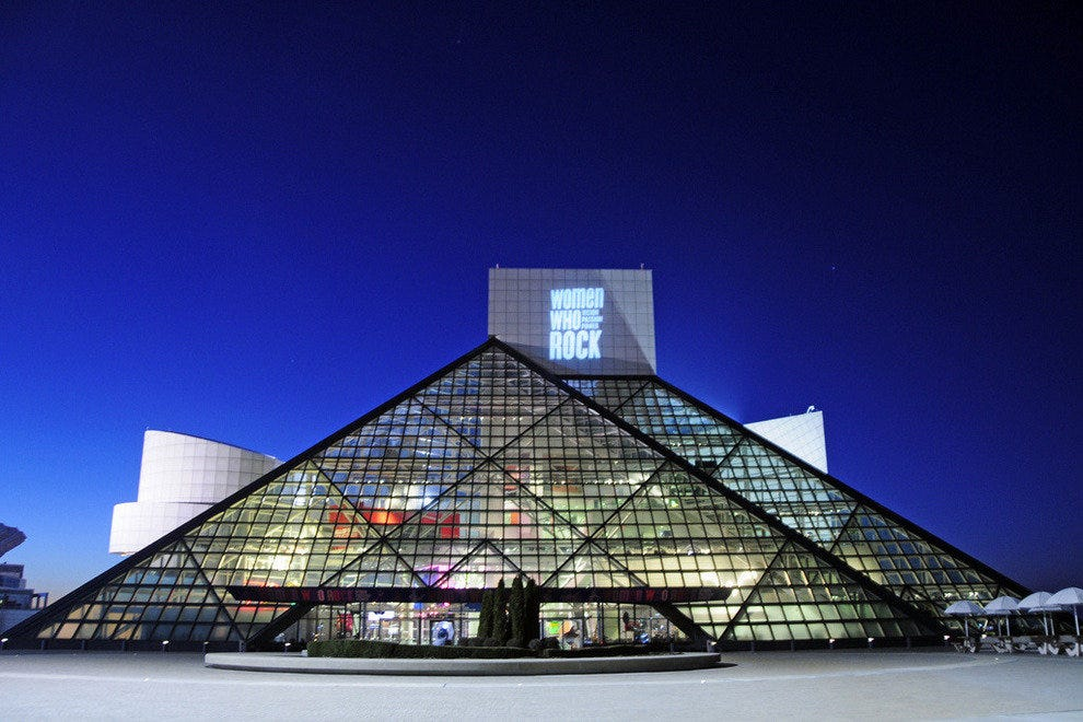10Best Visits the Rock and Roll Hall of Fame