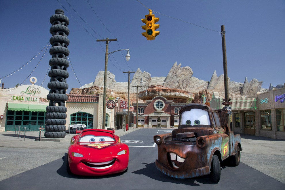 Disney's California Adventure Park's Cars Land