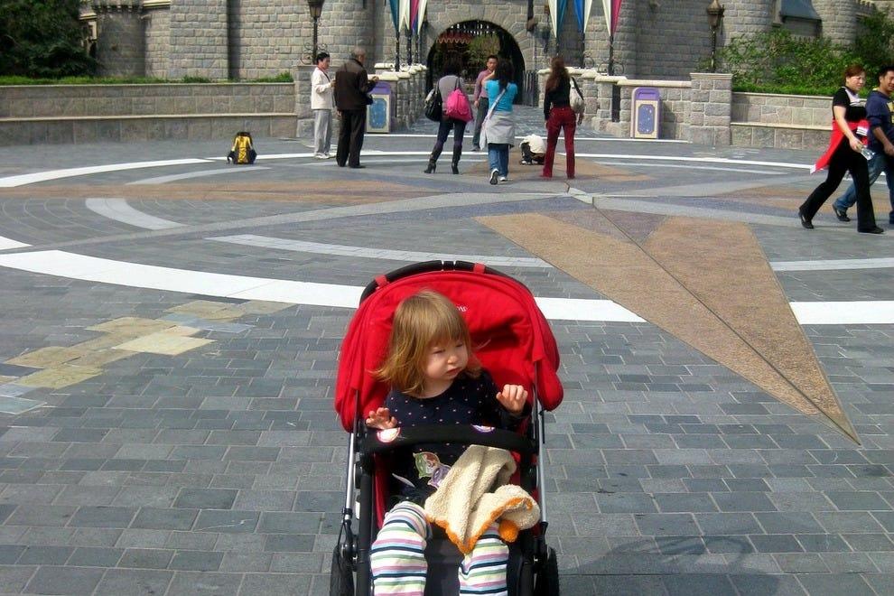 Cinderella's Castle at Hong Kong Disneyland