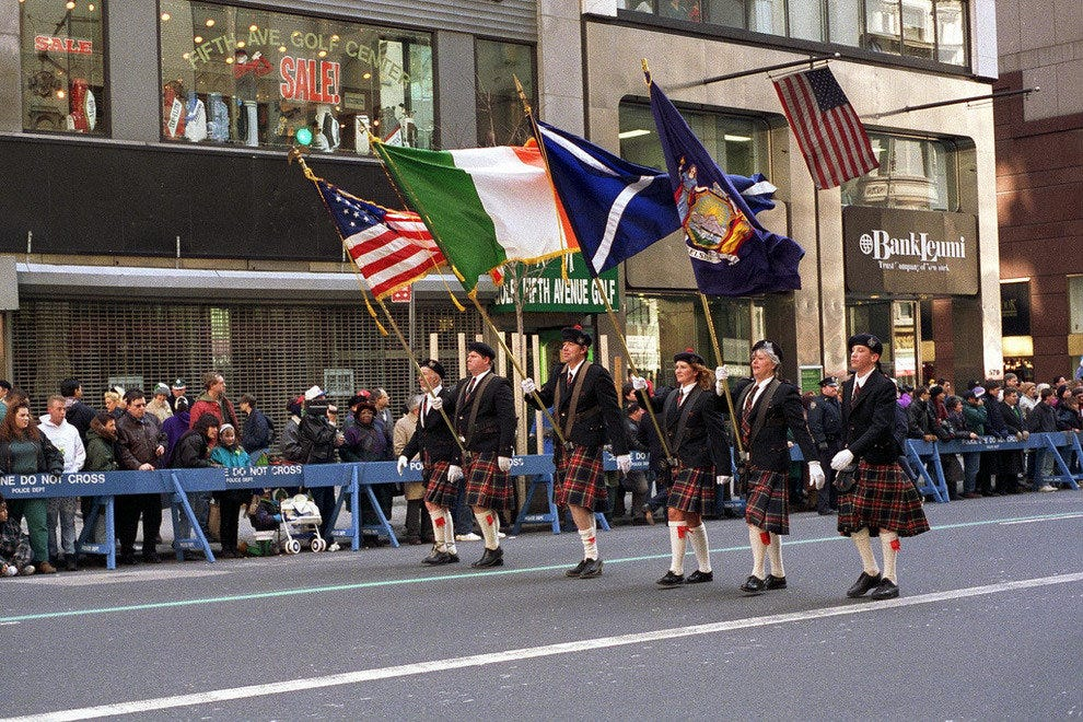 Parade in NYC