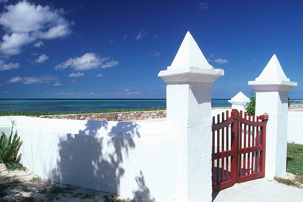 Gate in Grand Turk