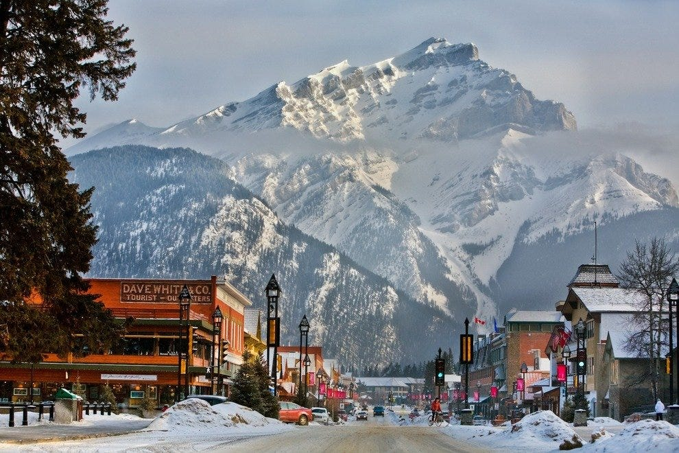 Banff in winter