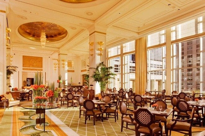 The Peninsula Traditional Afternoon Tea Chicago Restaurants