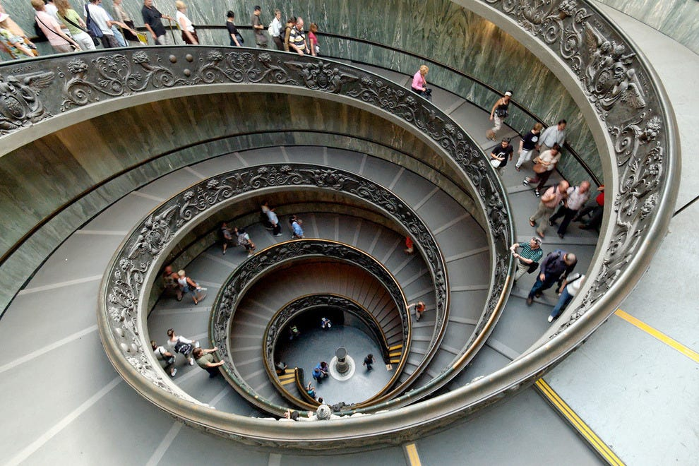 Vatican Spiral Stairs