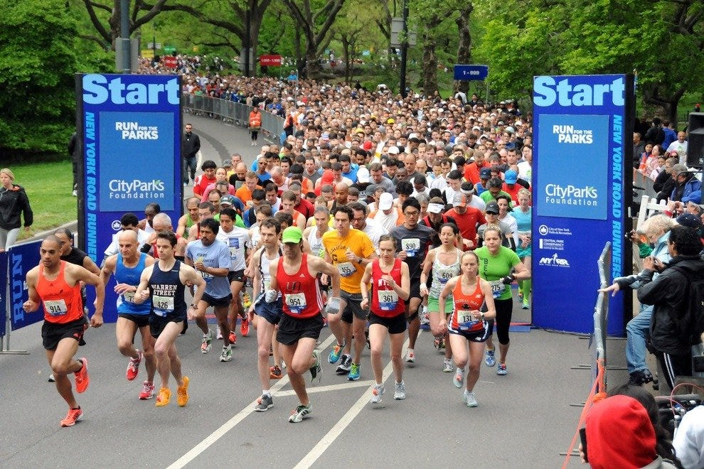 Run for the Parks in NYC