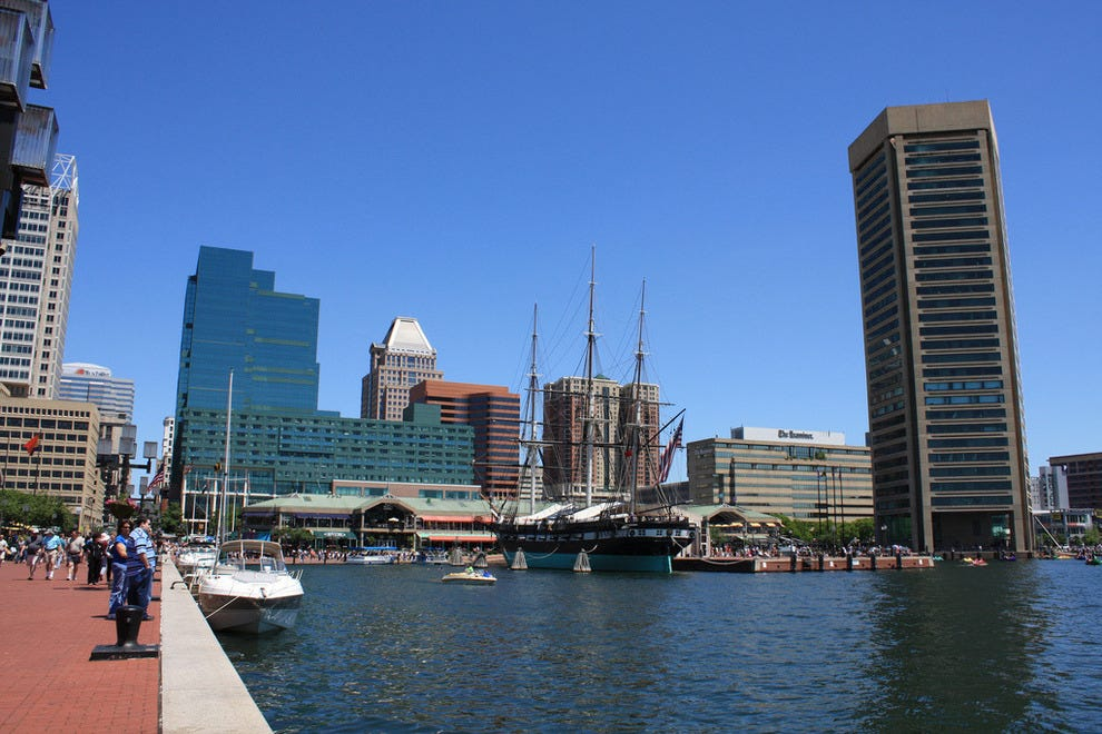 Best Restaurants At Inner Harbor Baltimore