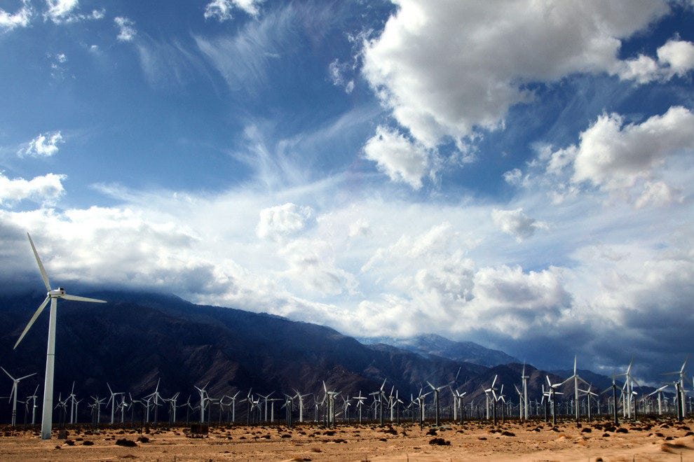 Capturing the Wind, and Creating Sustainable Energy