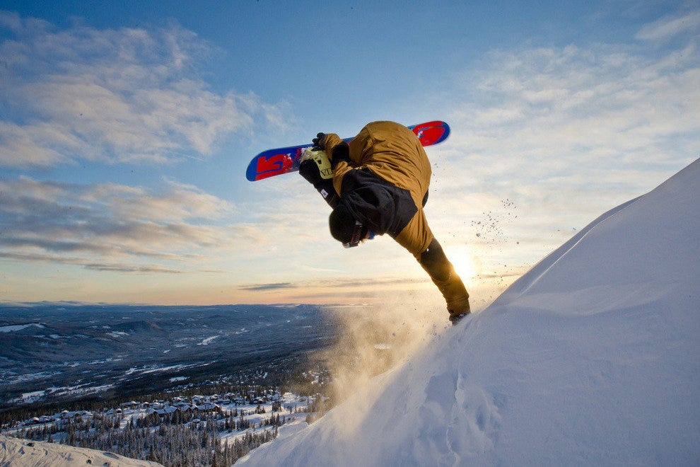 Catching air in Trysil