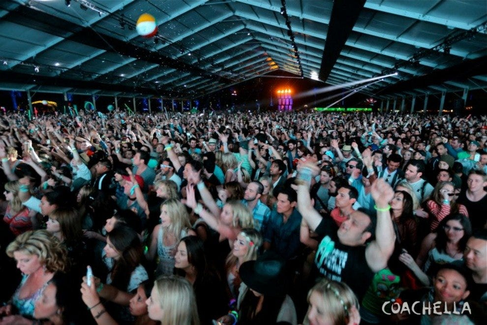 Coachella Fest brings massive crowds of music lovers to the Empire Polo Club in Indio
