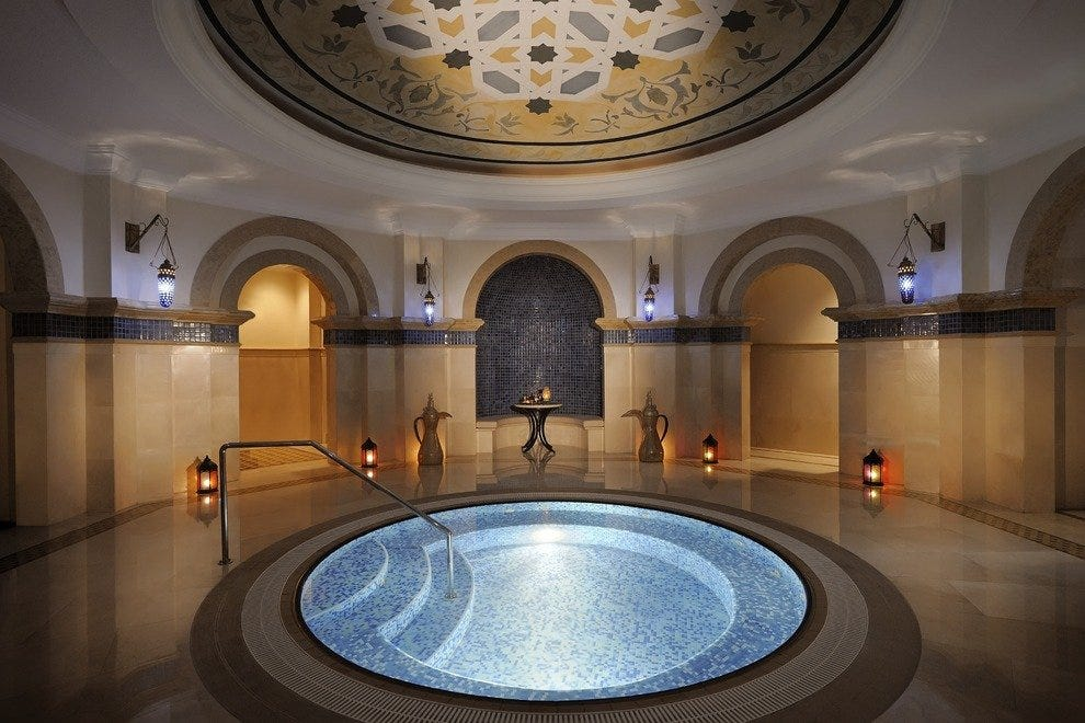 Hammam at the Royal Mirage spa