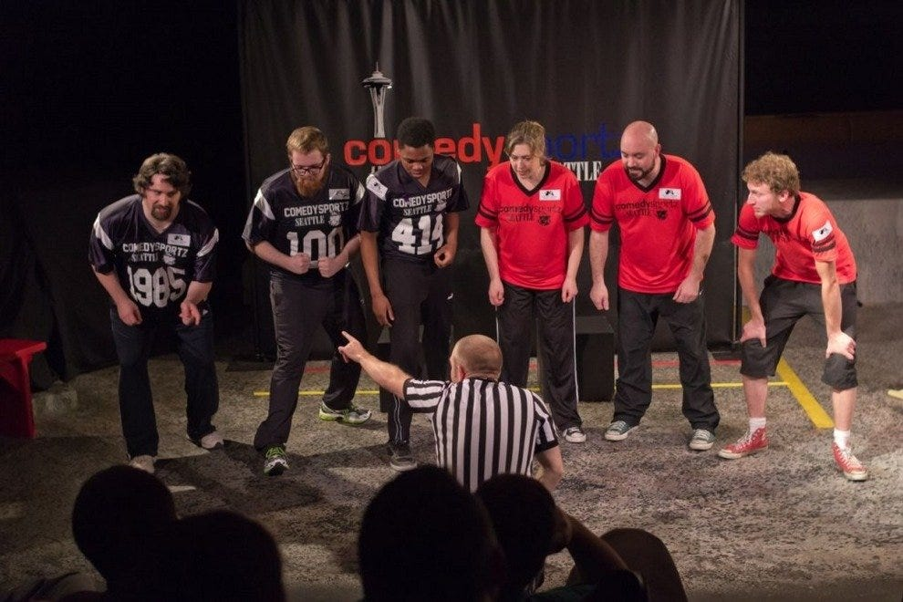 CSz Seattle - Home of ComedySportz