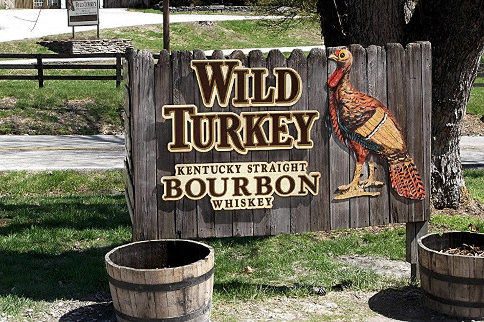 Wild Turkey Sign
