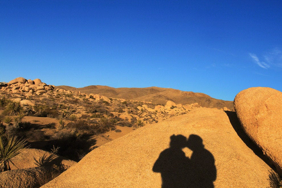 Sunset Kiss, Joshua Tree National Park