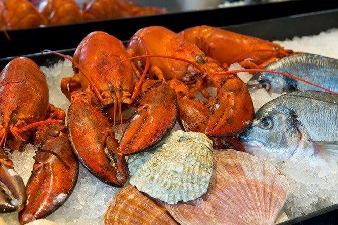 Restaurant Slideshow Seafood In Amsterdam