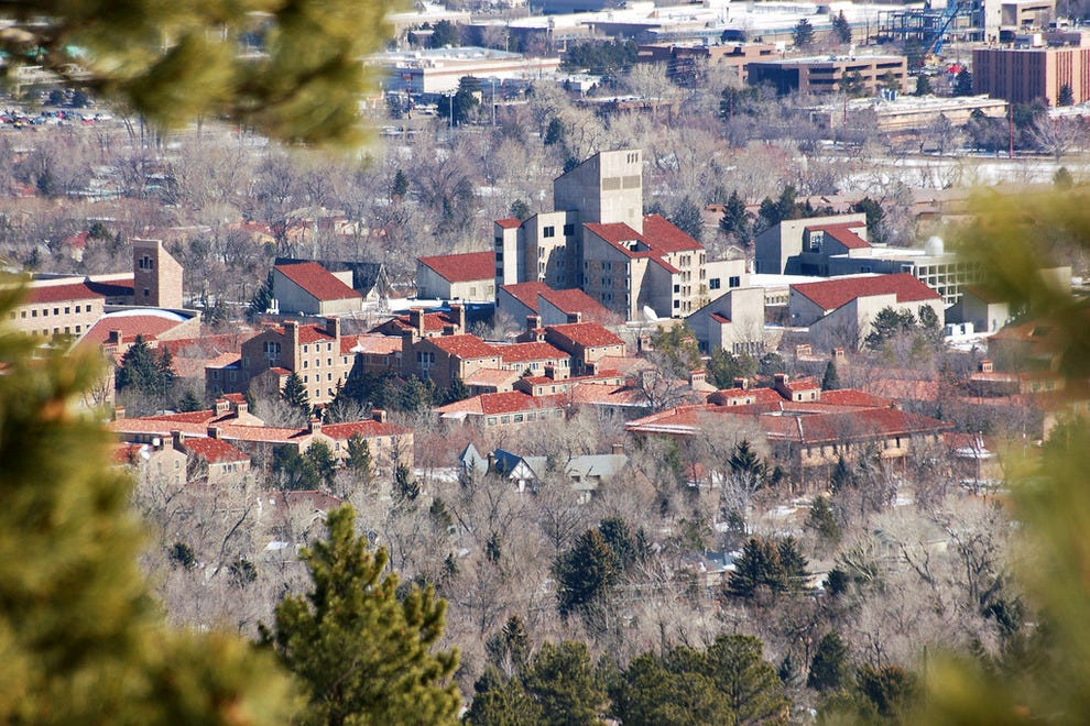 Things To Do In Cu Campus University Hill Boulder