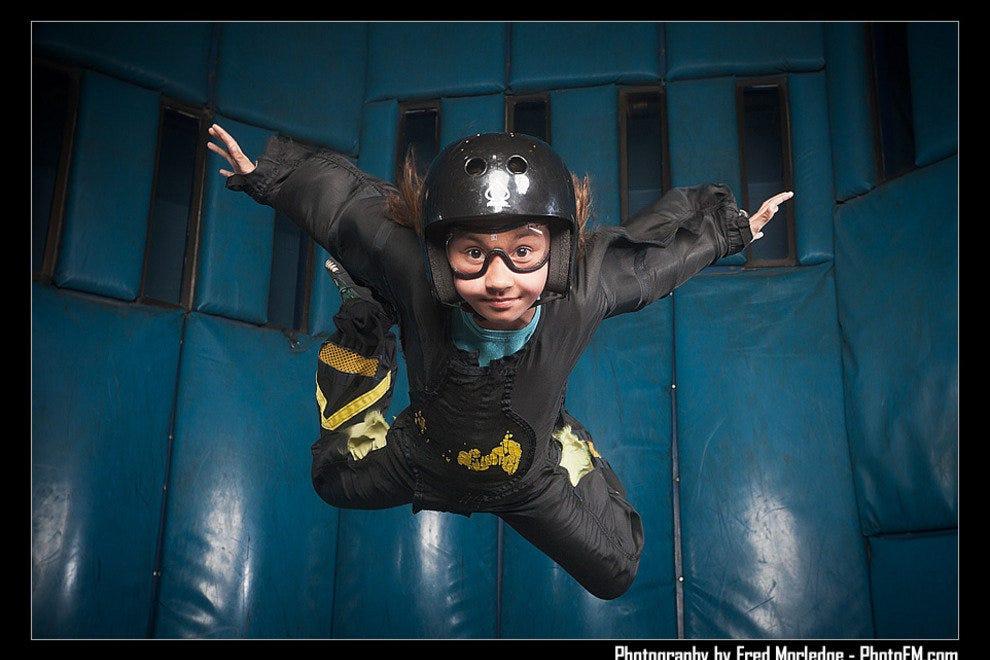 说到拉斯维加斯室内跳伞的乐趣,天空就是极限