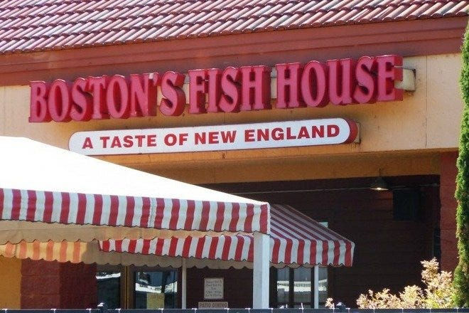 Boston's Fish House