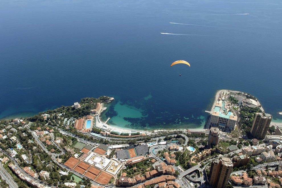 Bird's eye view of Monte Carlo