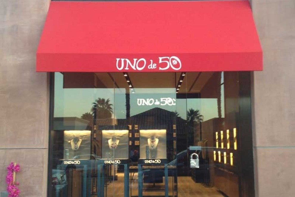Uno de 50 is the latest addition to The Gardens on El Paseo