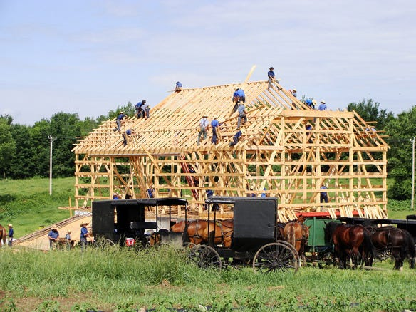 Witness a Barn Raising