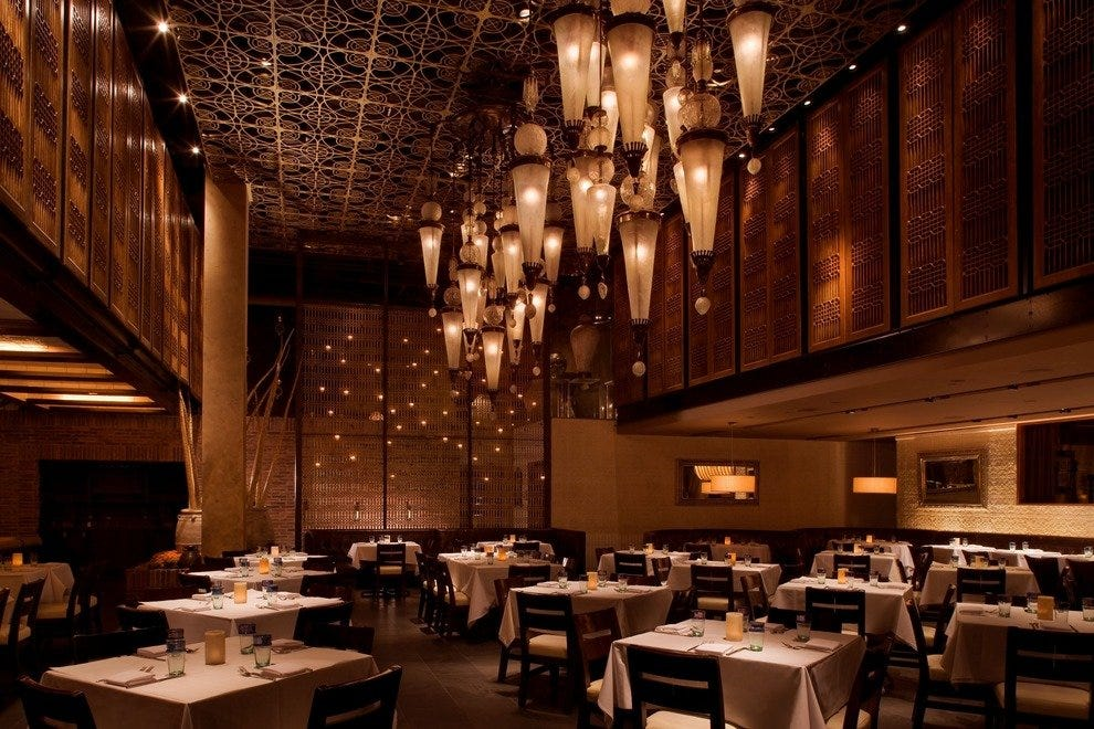 Lavo italian restaurant las vegas restaurants review