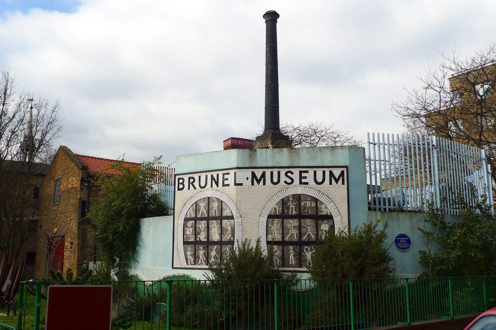 The Brunel Museum is a fascinating walk through history