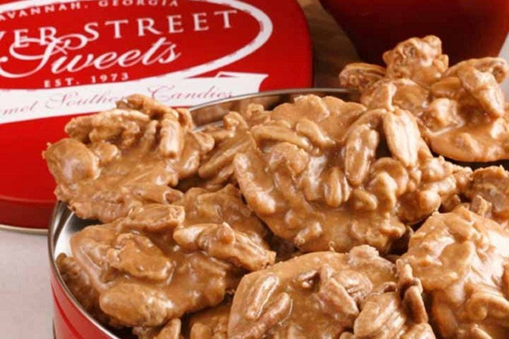 River Street Sweets' pralines are a Savannah tradition