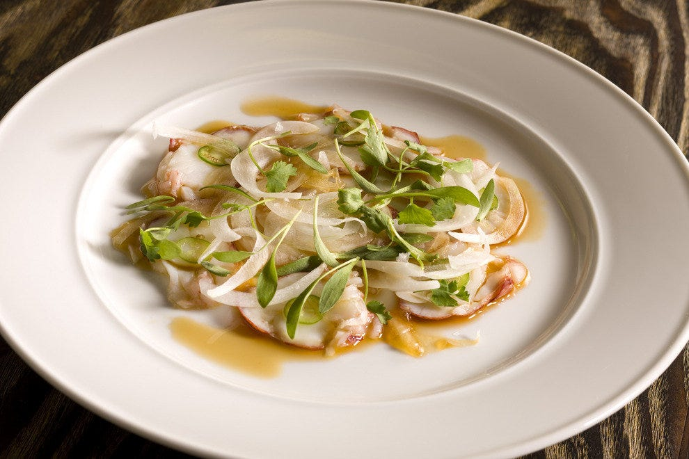 Nobu's Lobster Carpaccio Recipe — Dishmaps