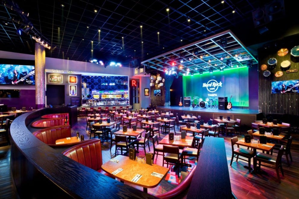 Hard Rock Cafe Tampa Shop