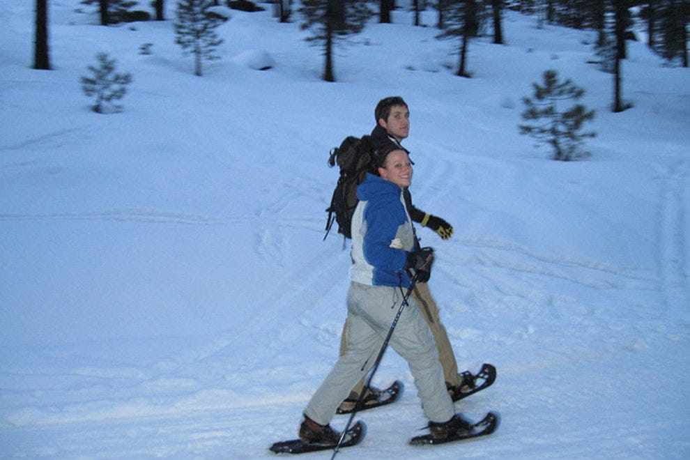 The Tahoe backcountry has hundreds of mile for snowshoeing