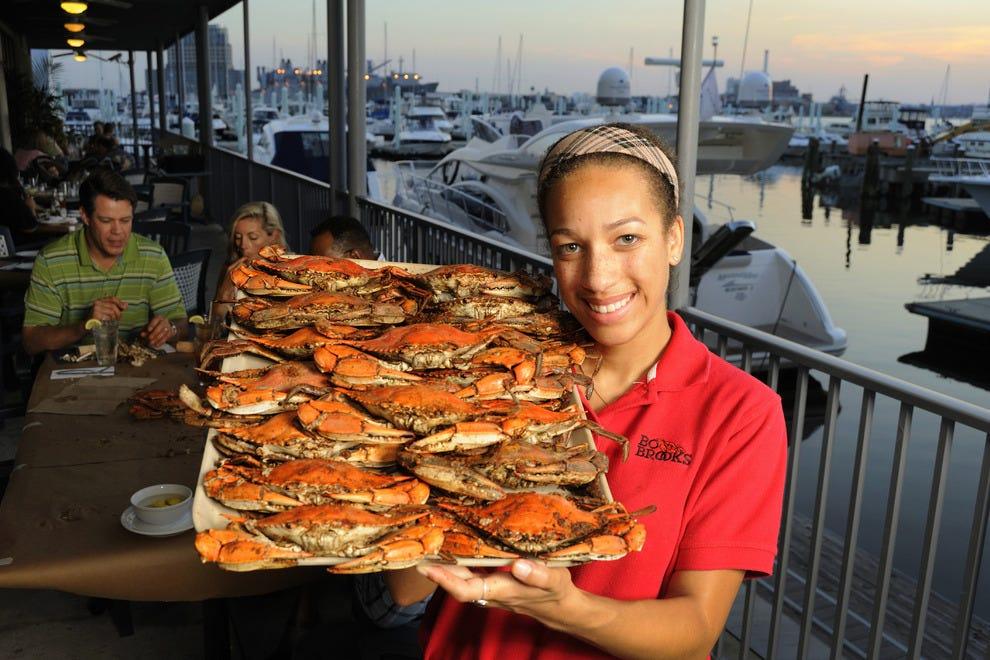 Cesapeake crabs at Bo Brooks
