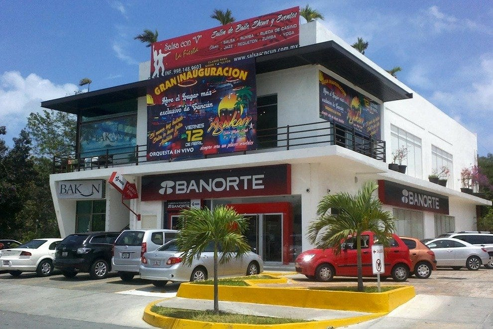 Azukarr is located in downtown Cancun