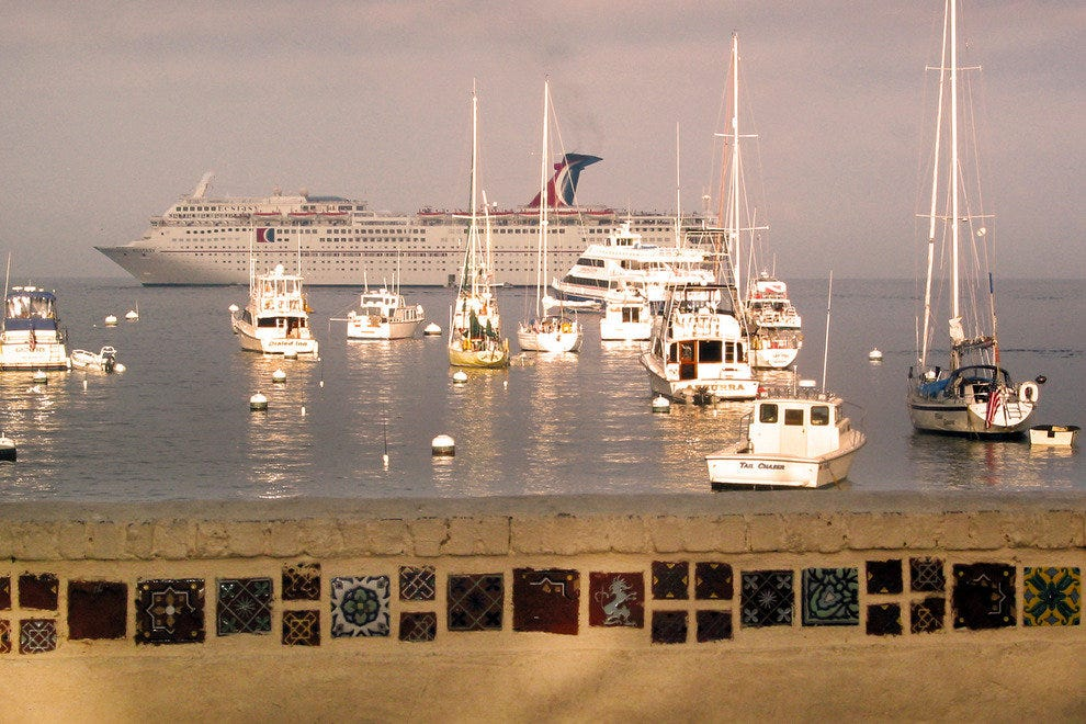 Catalina Island is a Favorite Stop on Cruise Ship Itineraries