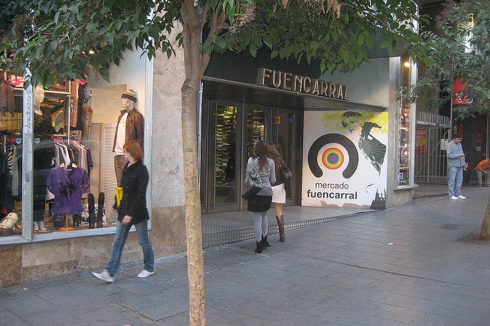Clothing stores in spain