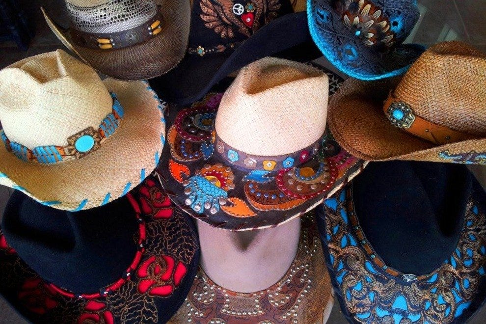 Cowboy Hats at Caballo Loco Boutique