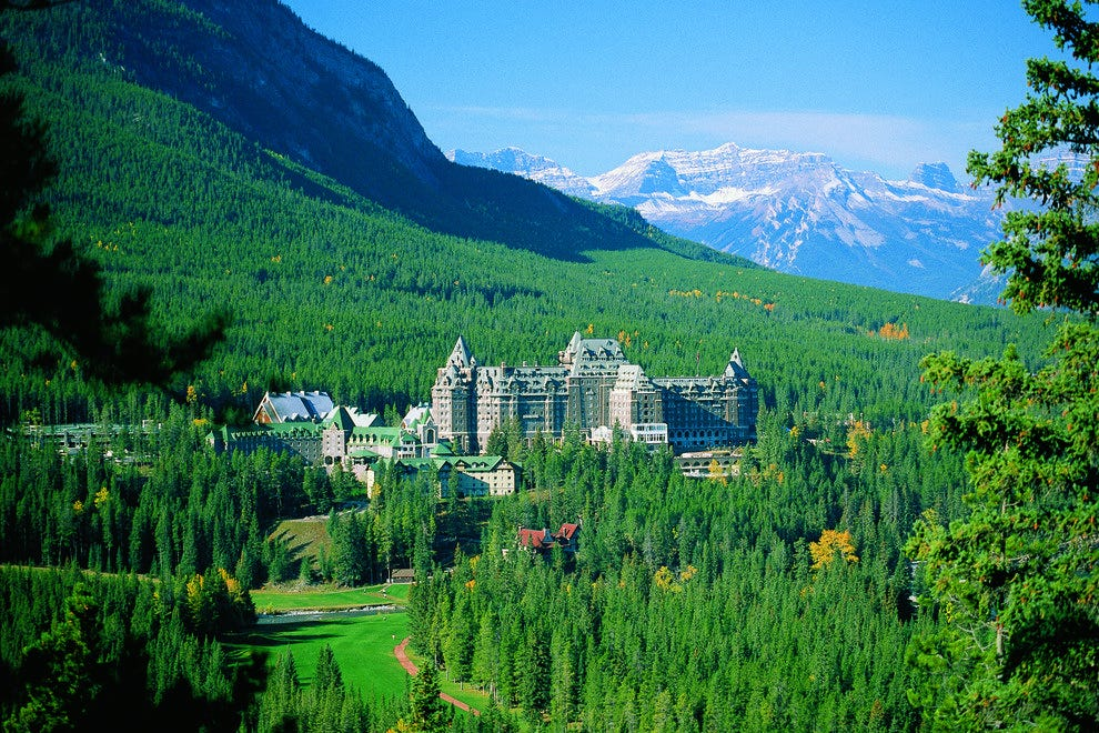 Fairmont Banff Springs at Banff National Park