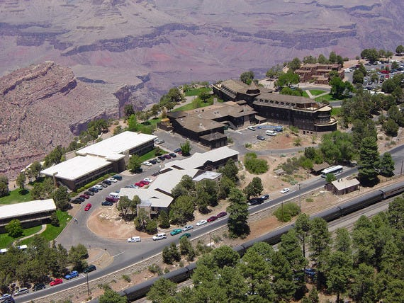 El Tovar Hotel in Grand Canyon National Park